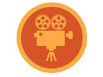 Filmfremviser-ikon
