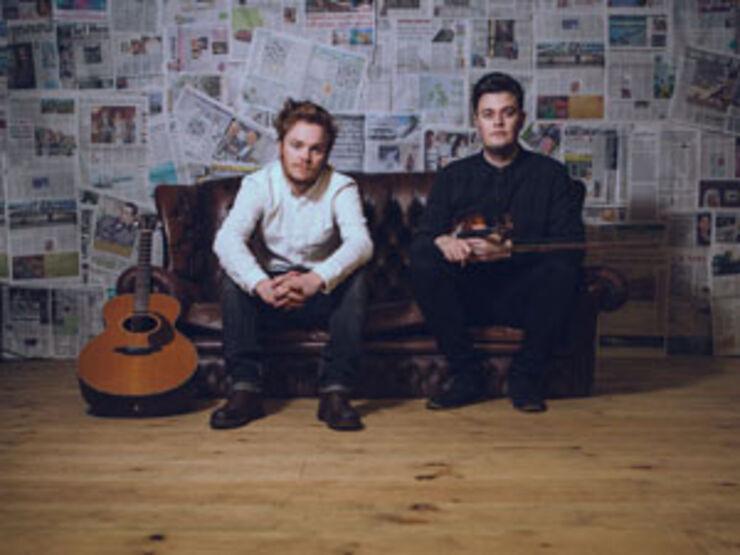 Musikerne Greg Russell & Ciaran Algar
