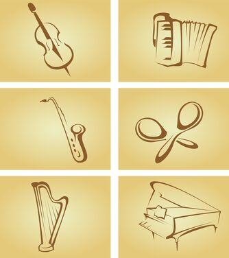 Tegnet saxofon