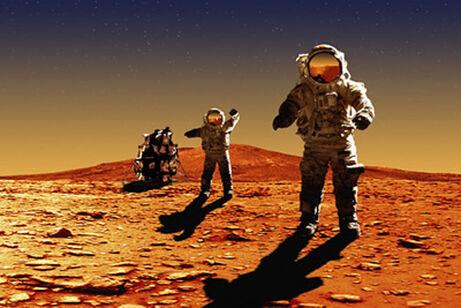 Astronauter på Mars