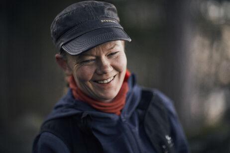 Mette Mortensen fra Alene i Vildmarken