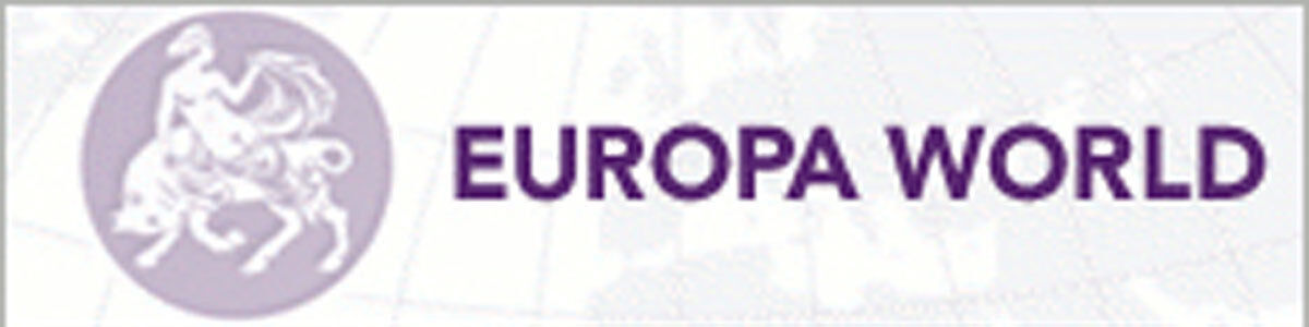 Logo for Europa World Plus