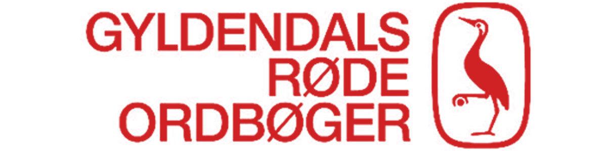 Logo for Gyldendals Røde Ordbøger
