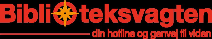 Logo for Biblioteksvagten
