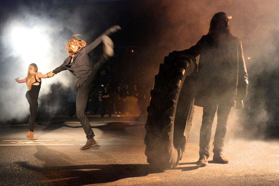Dansere fra forestillingen ' Bror Bro'
