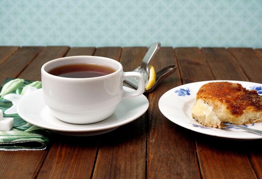 Brunsviger og kaffe