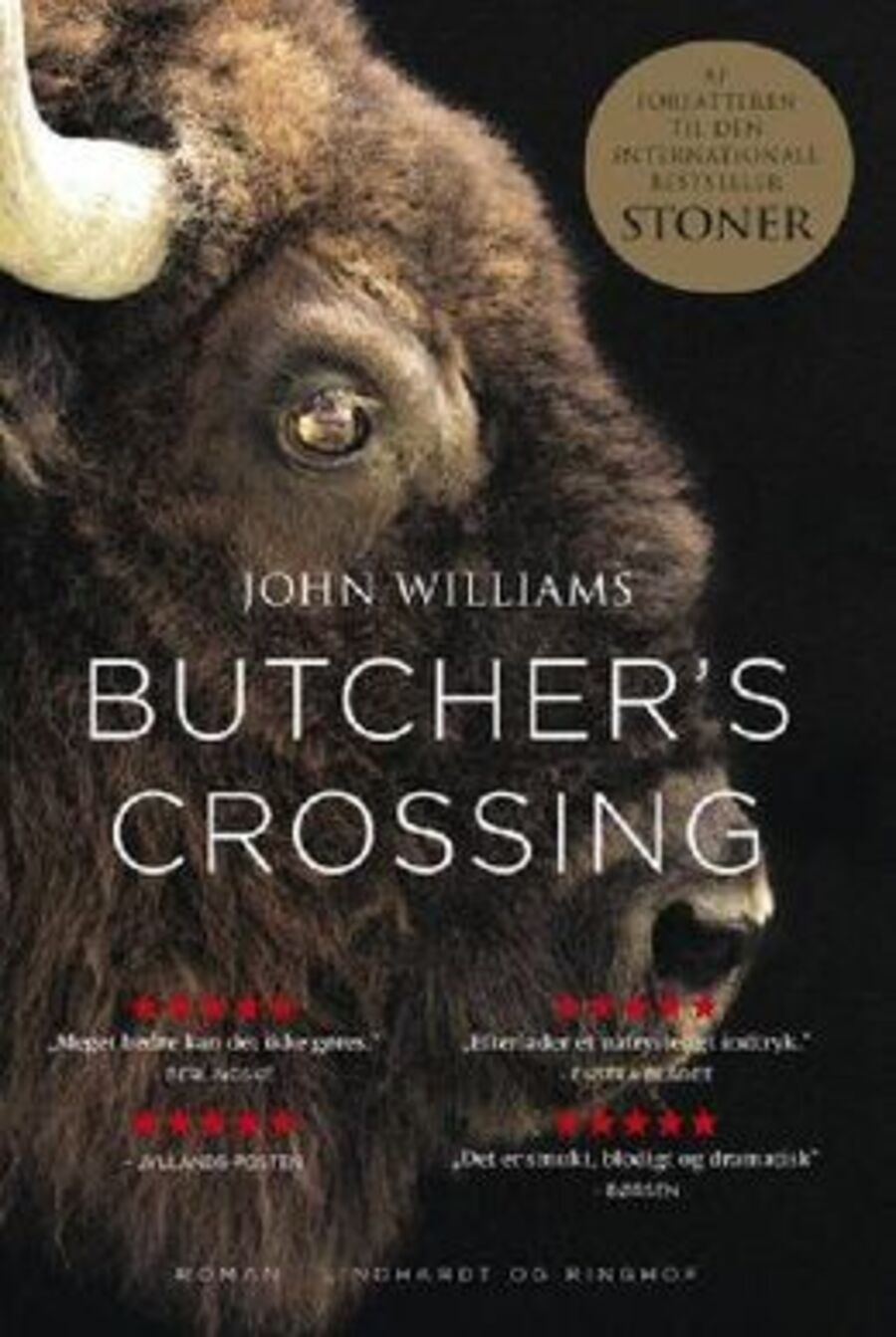 Forside på 'Butcher's Crossing'