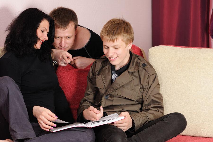 Familie der læser