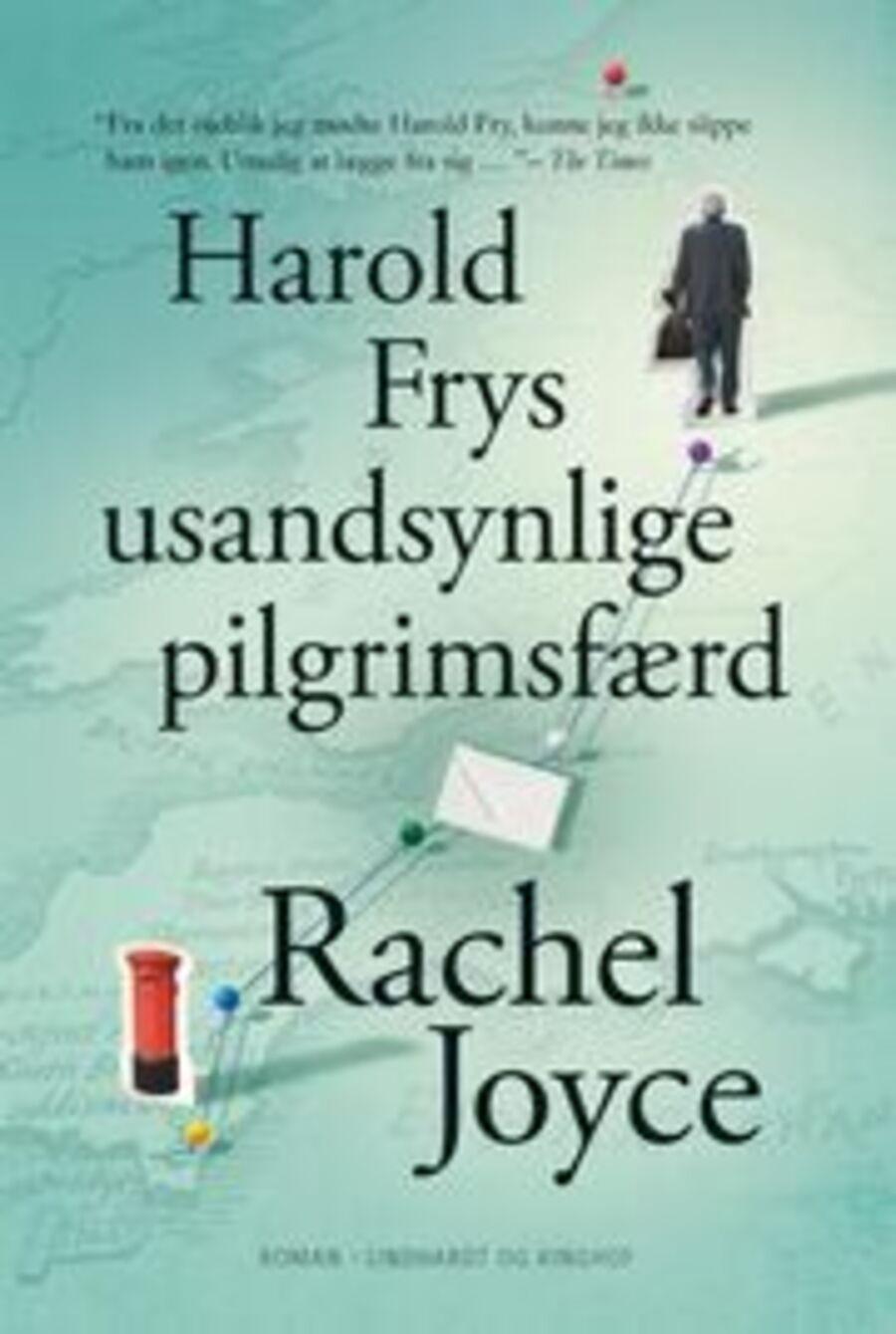 Forside på 'Harold Frys usandsynlige pilgrimsfærd'