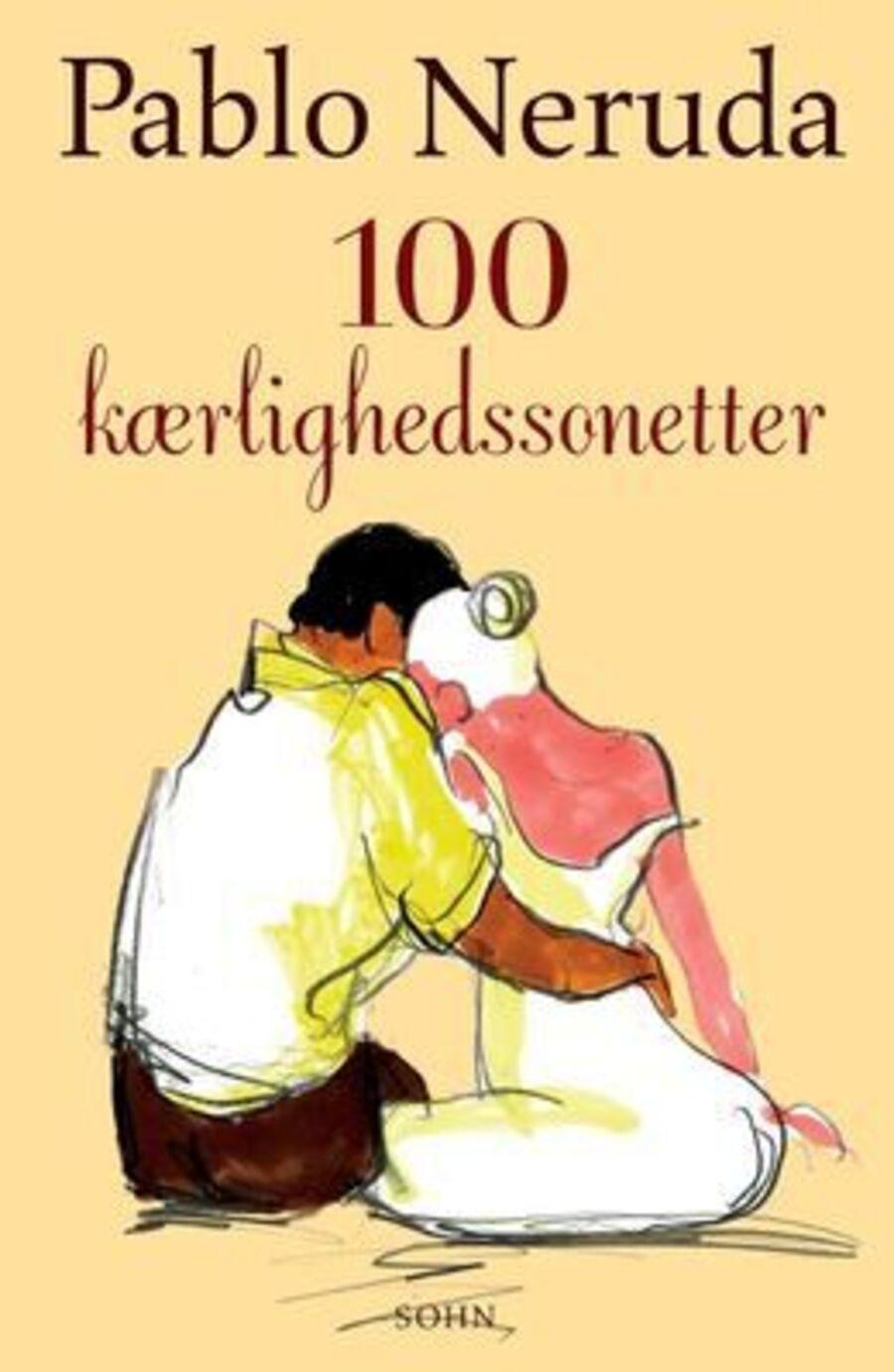 Forside på 'Hundrede kærlighedssonetter '