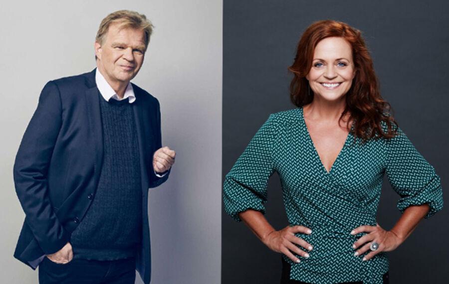 Karen Fastrup og Einar Mar Gudmundsson