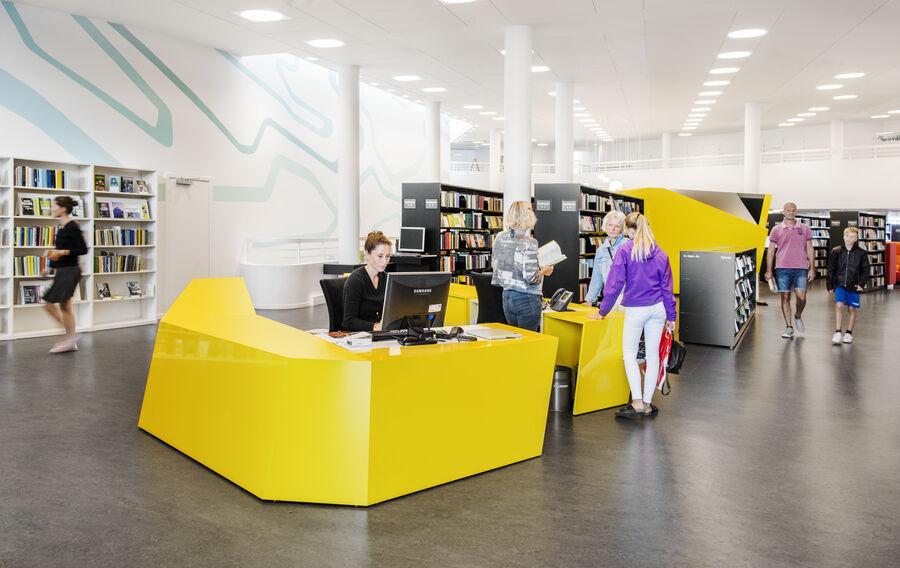 Biblioteket på KulturØen