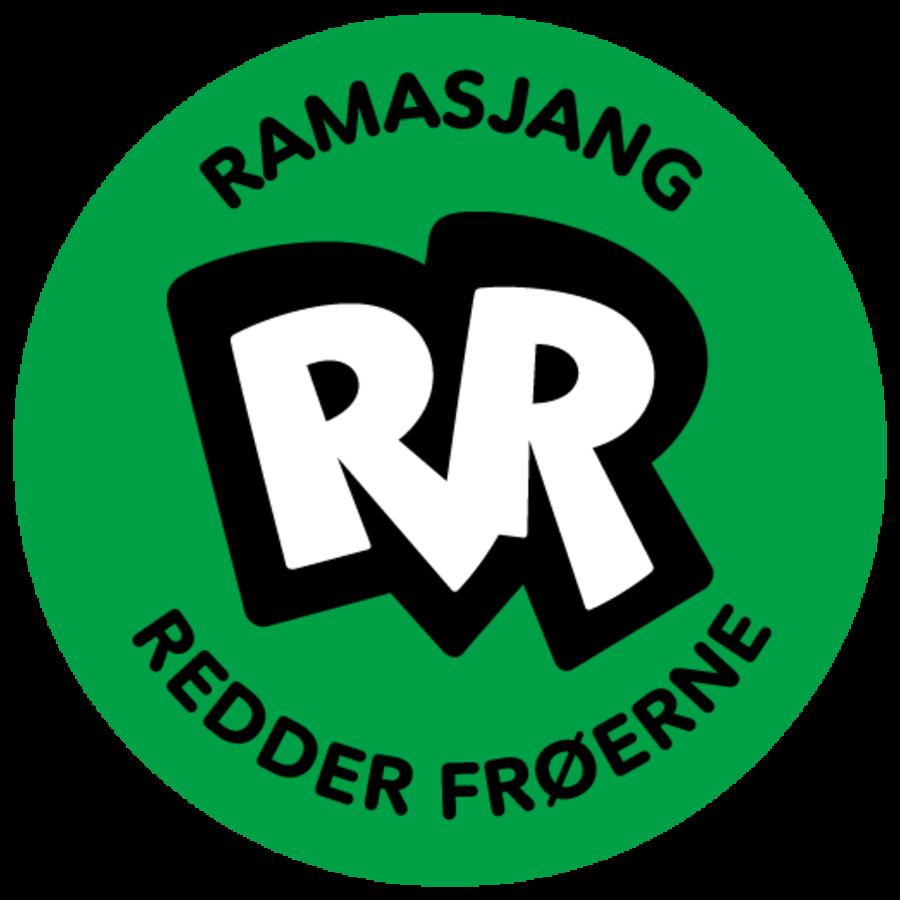Logo 'Ramasjang Redder Frøerne'