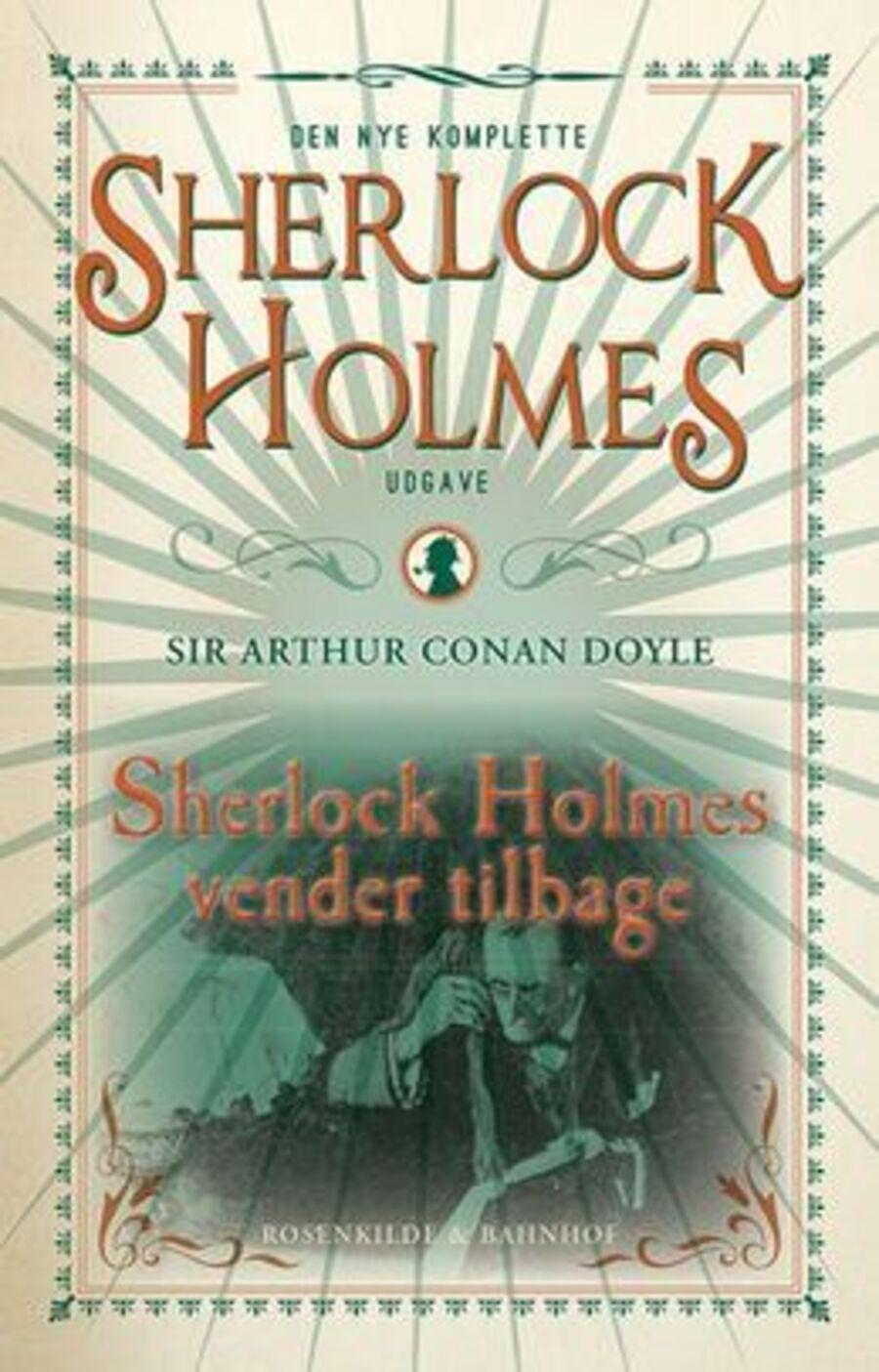Forsiden på 'Sherlock Holmes' eventyr'