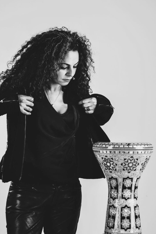 Percussionist Simona Abdallah