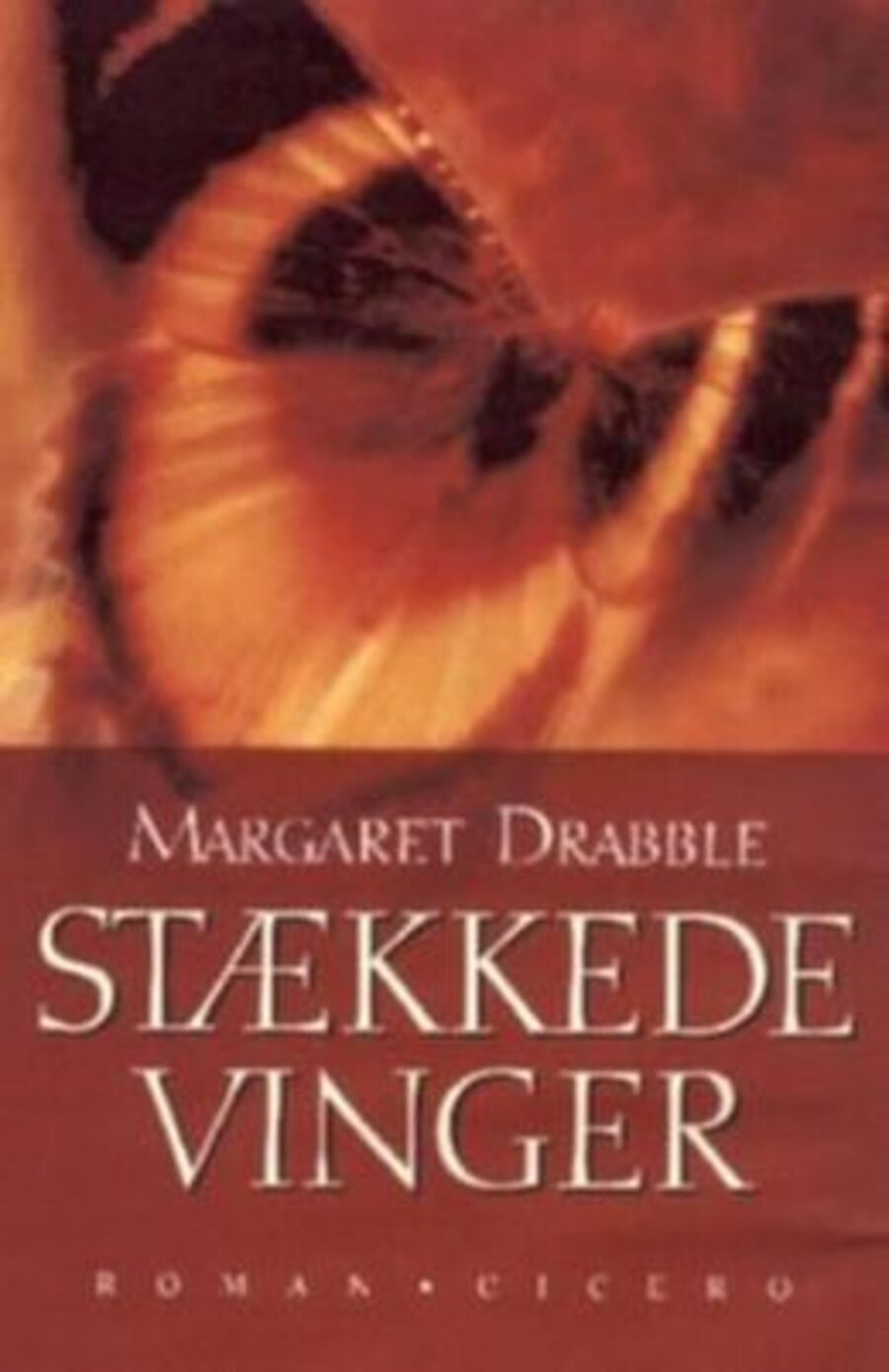 Forside på 'Stækkede vinger'