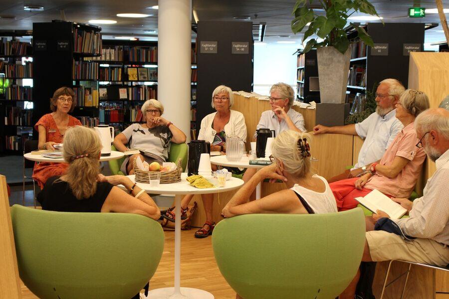 Deltagere til Læsecafé