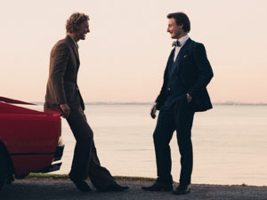 Violinist Niklas Walentin og pianist Alexander McKenzie