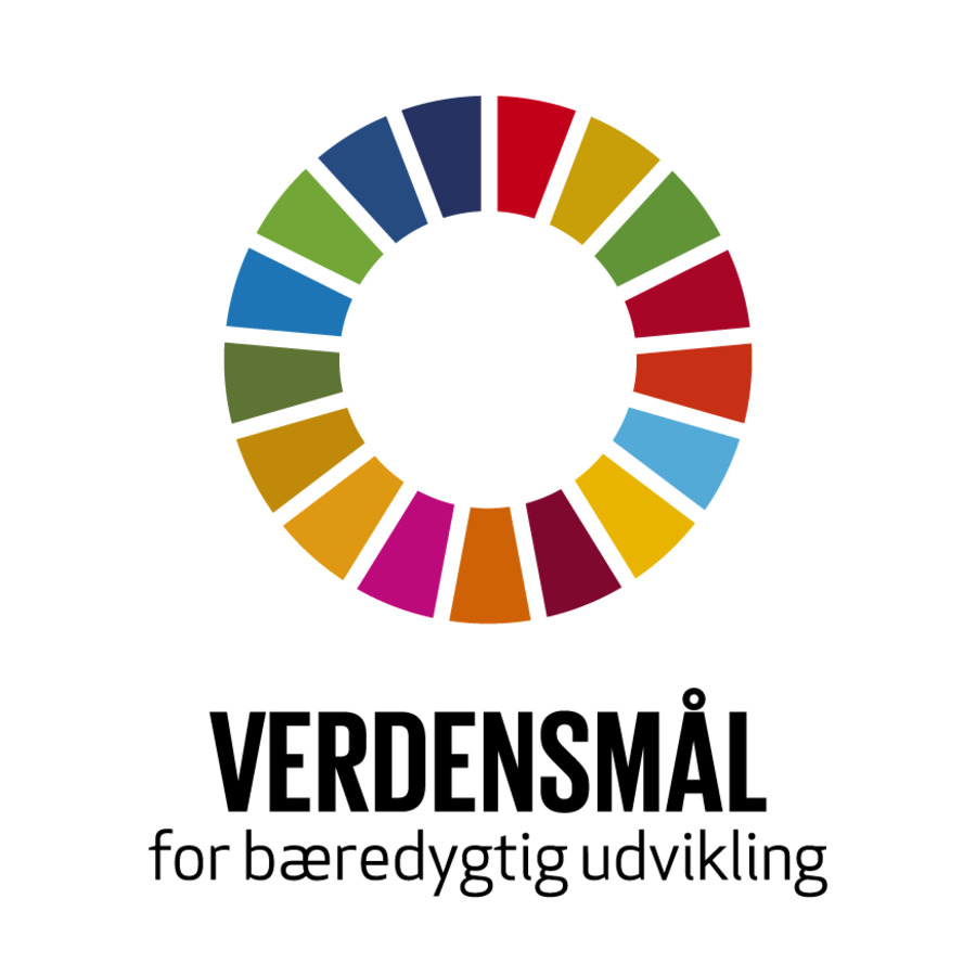 Logo for Verdensmålene