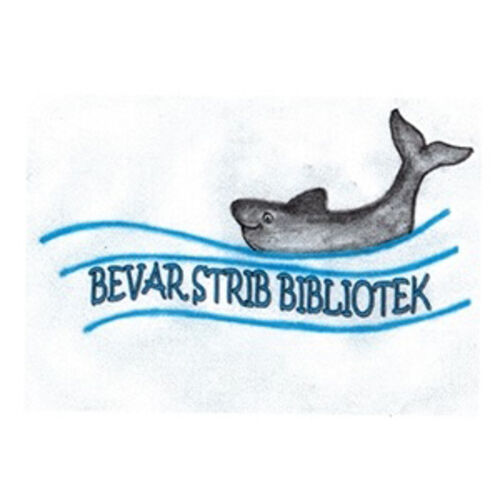 Logo for foreningen Bevar Strib Bibliotek