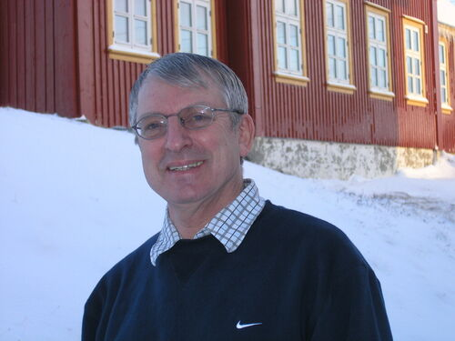 Biolog og lektor Uwe Lindholdt